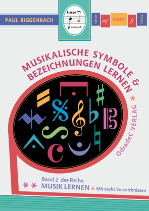 Musikalische Symbole Cover 25mm